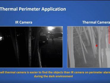 กล้องตรวจจับความร้อนในเวลากลางคืน Sunell Thermal