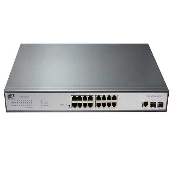 PoE switch with รุ่น ASIT-33016PM