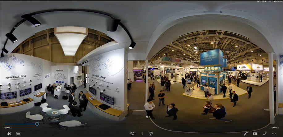 กล้อง Fisheye แบบพาโนรามาแบบ 360°