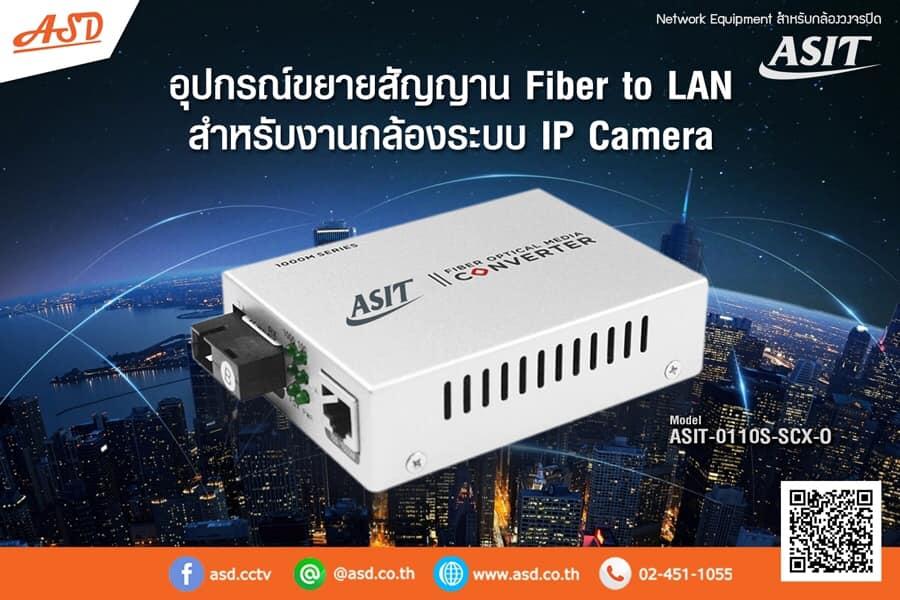 ตัวขยายสัญญาณ สำหรับกล้อง IP