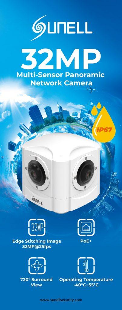 กล้องวงจรปิด 32ล้านพิกเซล รุ่น SN-IPP5790DDN