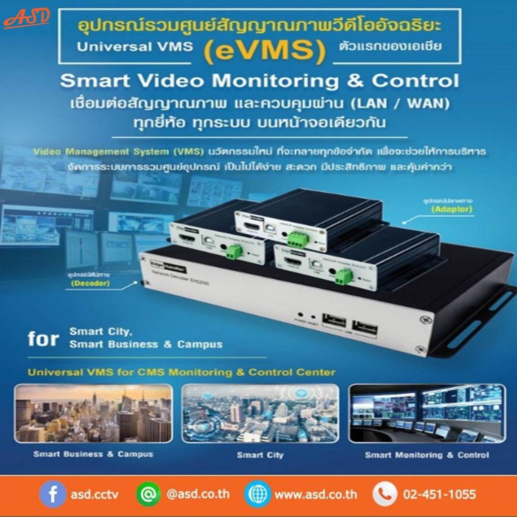 อุปกรณ์รวมศูนย์สัญญาณภาพวีดีโอ VMS