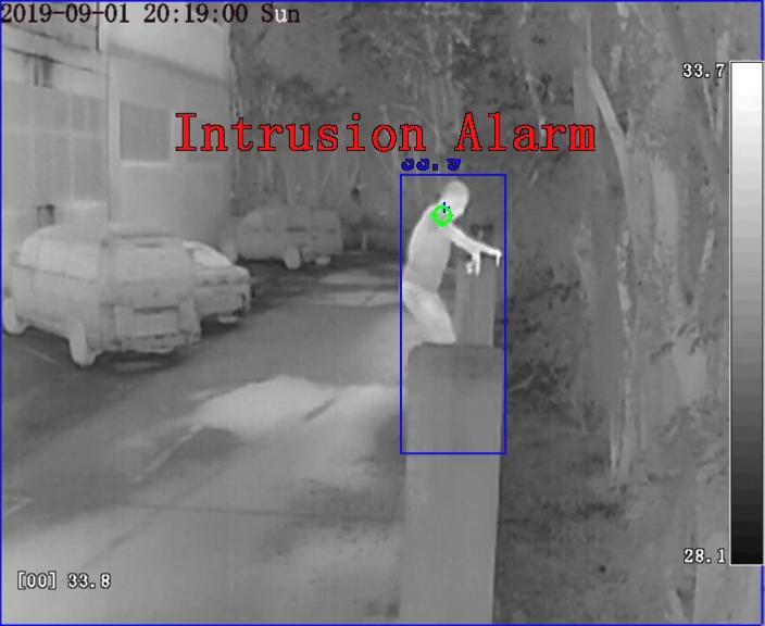 กล้องวงจรปิดตรวจจับยานพาหนะ Sunnell