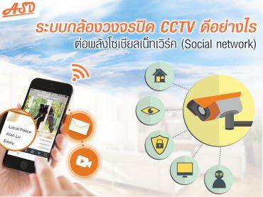 ระบบกล้องวงจรปิด CCTV ดีอย่างไรต่อ Social network